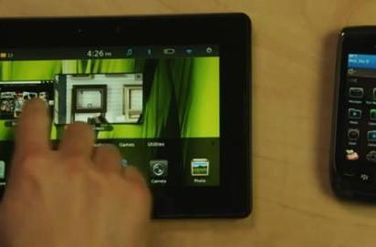 RIM shows PlayBook living in sweet harmony with BlackBerry Torch in new video