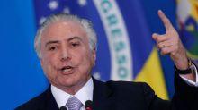 Brazil's Temer says pension bill 2 to 3 dozen votes short