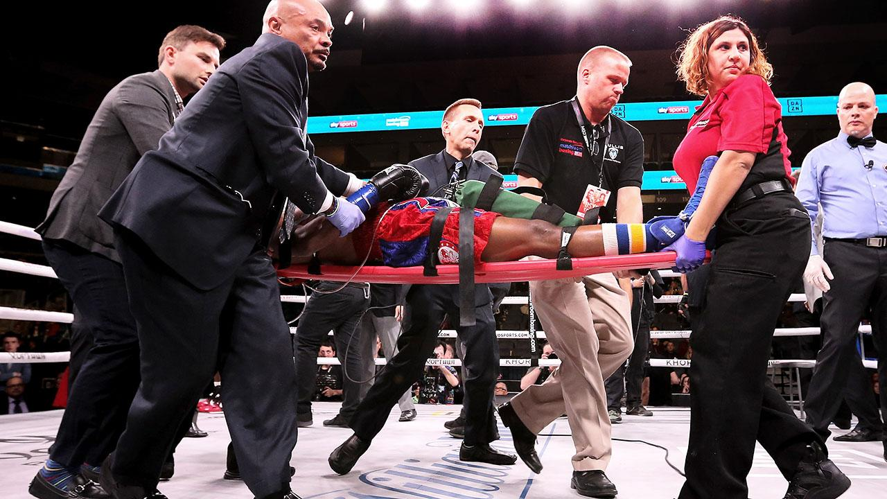 'Beyond heartbroken': Boxing star in coma after devastating knockout