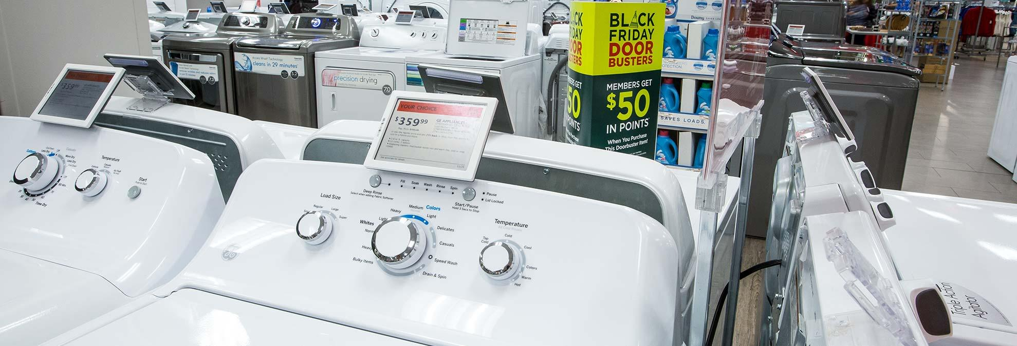 black friday deals on washers and dryers start now. Black Bedroom Furniture Sets. Home Design Ideas