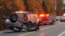 Keep your eyes on the road, say paramedics — not the leaves