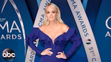 Carrie Underwood will be 'setting off airport metal detectors from now on' following surgery on broken wrist
