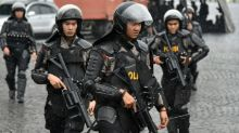 Indonesian killed in shootout after bomb attack