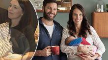 Outrage after Jacinda Ardern is filmed breastfeeding
