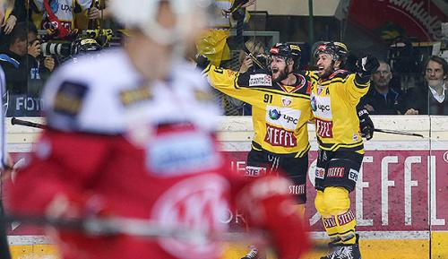 Eishockey: Capitals starten mit Sieg ins EBEL-Finale