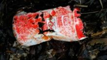 Coke can from 1988 Olympic Games is washed up on Scottish beach