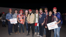 Republican students fundraise to build 18-foot wall to 'own the libs' and push message of 'border security'