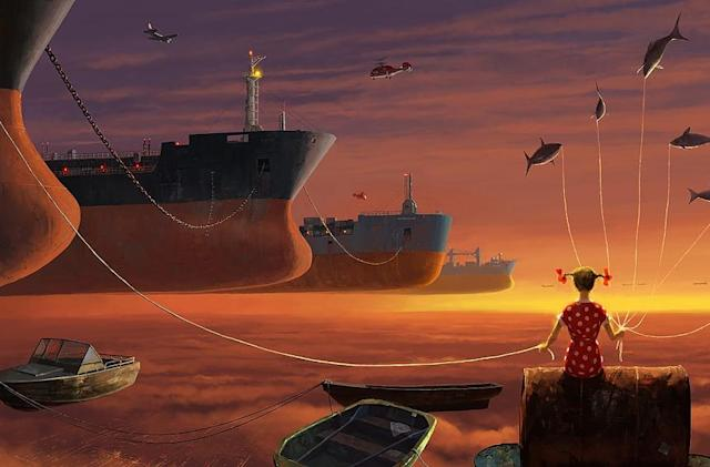 Living a digital dream with Alex Andreev's VR landscapes