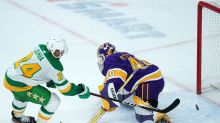 Matt Dumba scores with under a second remaining to give Wild 4-3 OT win over Los Angeles