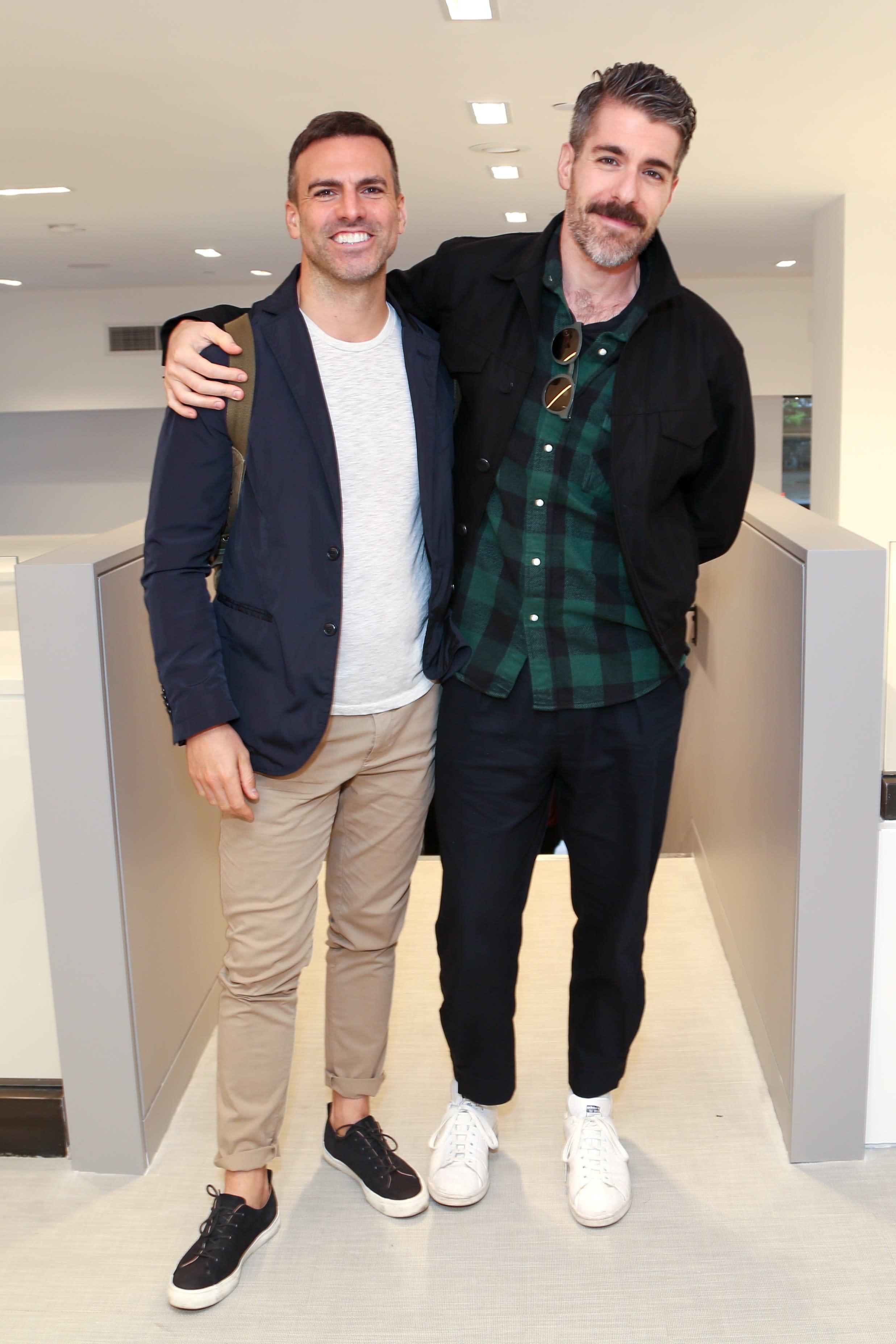 Designer Neal Beckstedt and ZAK + FOX Principal Zak Profera