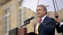 Colombia rebels must free kidnapped soldiers, police, Duque says