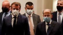 """En visite au Liban, Macron appelle à la mise en place d'un """"gouvernement de mission"""" au """"plus vite"""""""
