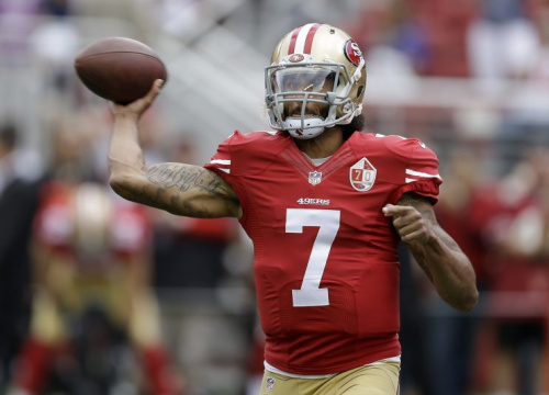 Colin Kaepernick can become a free agent after the 2016 season (AP)