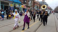 Beaches Easter Parade attracts large crowds along Queen Street East