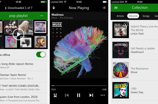 Xbox Music for iOS now plays music offline (update: Android too)