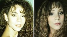 This woman looks so much like Mariah Carey, and she loves it