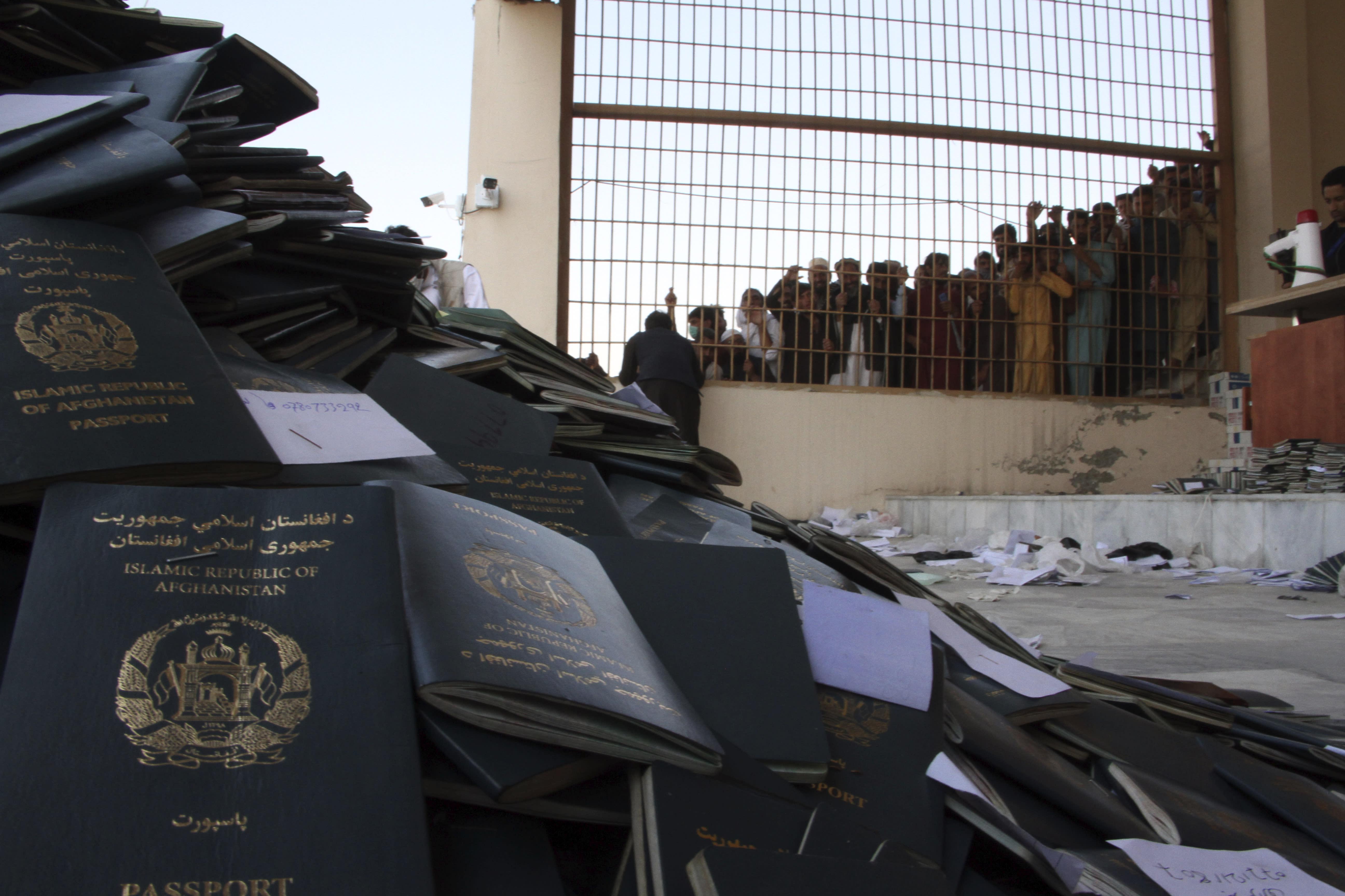 At least 15 killed in Afghan stampede for visas