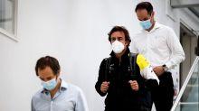 Alonso a fait son retour à l'usine Renault F1 d'Enstone