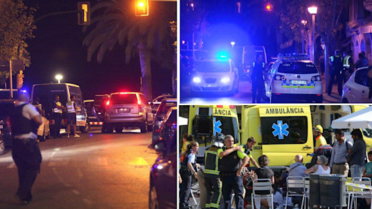 Second Spain terror attack stopped hours after 13 mown down in van carnage