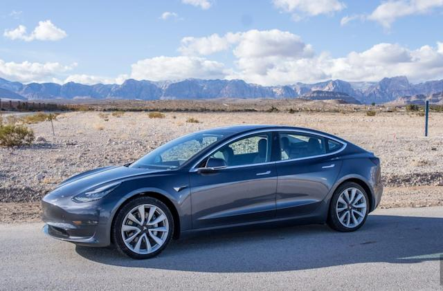 Tesla's Model 3 leads it to another profitable quarter