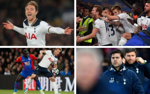 How Mauricio Pochettino's tinkering saw Spurs get their title race back on course with victory over Crystal Palace