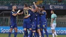 L'Inter fermata sul 2-2 a Verona, ora  quarta