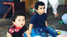 In Pics: Taimur & Lakshya Kapoor Have a Blast at a Birthday Party