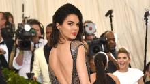 Kendall Jenner Poses Totally Naked on a Picnic Table With a Cigarette