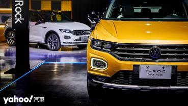 跨界無需等待、微高小鋼炮正式駕到!2021 Volkswagen T-Roc在台上市104.8萬起!
