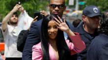 Cardi B hit with new felony charges in strip club brawl