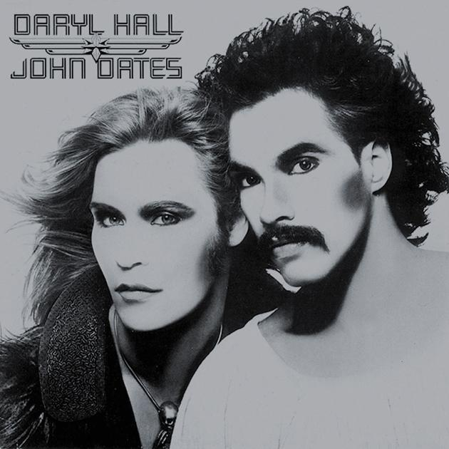 the cover art for 1975's 'Daryl Hall & John Oates'