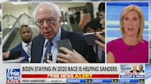Laura Ingraham claims Bernie Sanders will be the 'juggernaut' Donald Trump was in 2016