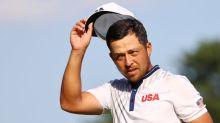 Olympics-Golf-Schauffele clings to gold medal position as Matsuyama lurks