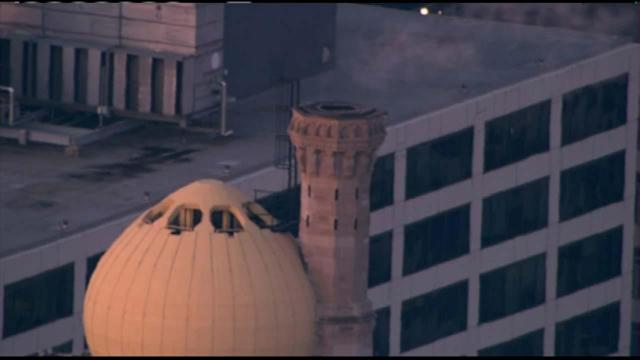 Man dies after falling into Mich. Ave. hotel smokestack