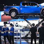 Ford is building hybrid and all-electric F-150 pickups it says won't skimp on power