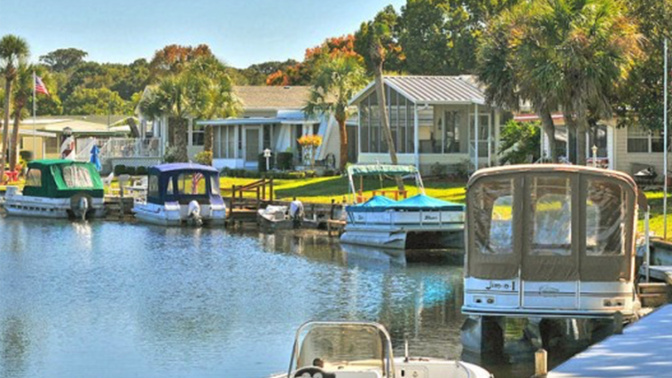 Why it's economically desirable to live in a trailer park