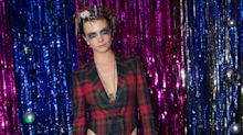 Cara Delevingne's ultimate style file: Sharp suits, dramatic dresses and a touch of goth