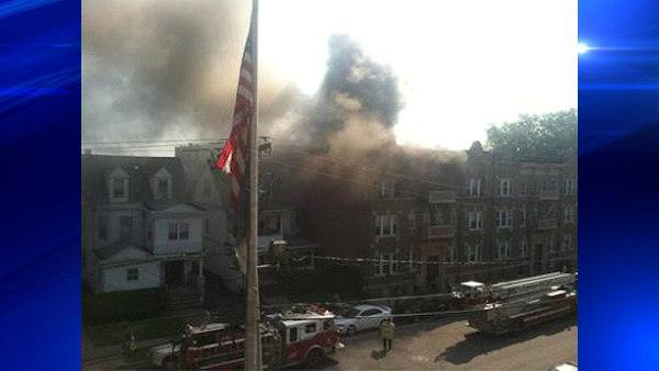 Huge fire in Passaic causes nearby high school to evacuate