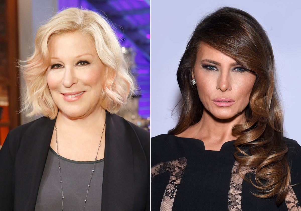 Bette Midler calls Melania Trump 'FLOTITS' and Twitter won't stand for it: 'Women deserve better than this'
