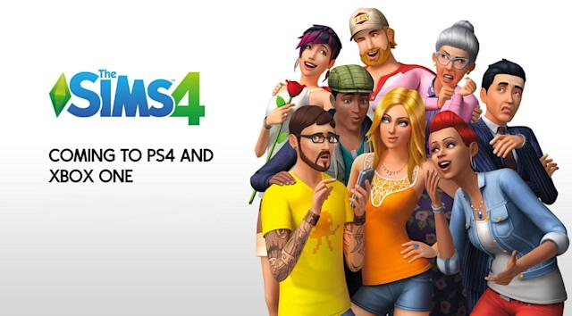'The Sims 4' will get weird on consoles November 17th
