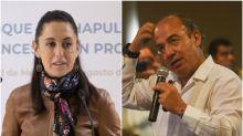 Sheinbaum defiende Águila Juarista en adornos patrios y dice que opinión de Calderón es ignorante