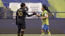 Defending champs moving on as Sounders oust LAFC 3-1