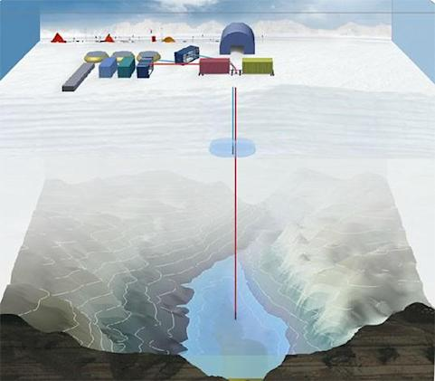 Researchers end quest to drill through 3km of ice after fuel runs low