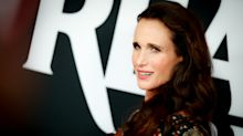 Andie MacDowell, 61, is a red carpet knockout at LA premiere