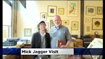 Mick Jagger Drops Into North Loop Bookstore