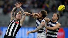 De Goey kicks five as Magpies down Cats