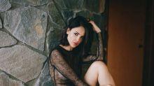 Eiza González se muestra muy sexy en un body semitransparente; mírala