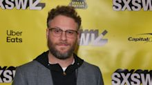 Seth Rogen goes to town in slamming Mel Gibson's new Father Christmas movie