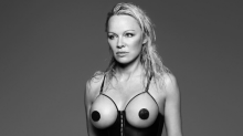 Pamela Anderson shows no sign of slowing down, poses for raunchy lingerie shoot