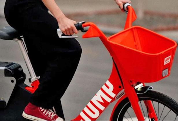 Uber's electric bike-sharing service is launching in Europe